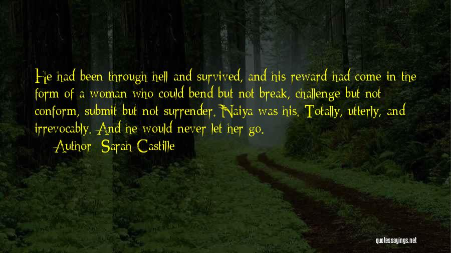 He Survived Quotes By Sarah Castille