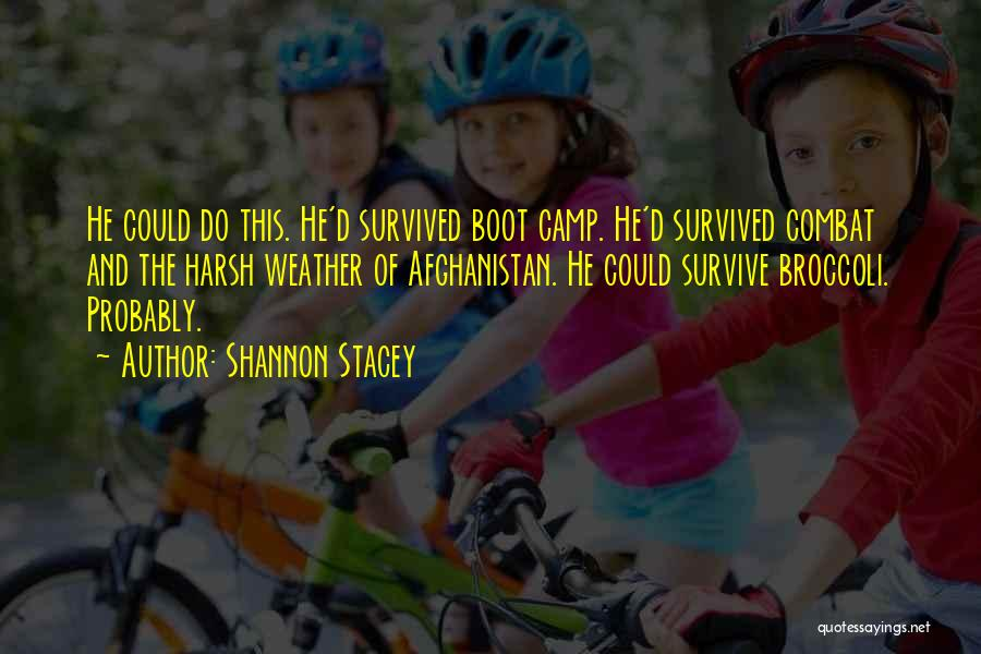 He Survived Quotes By Shannon Stacey