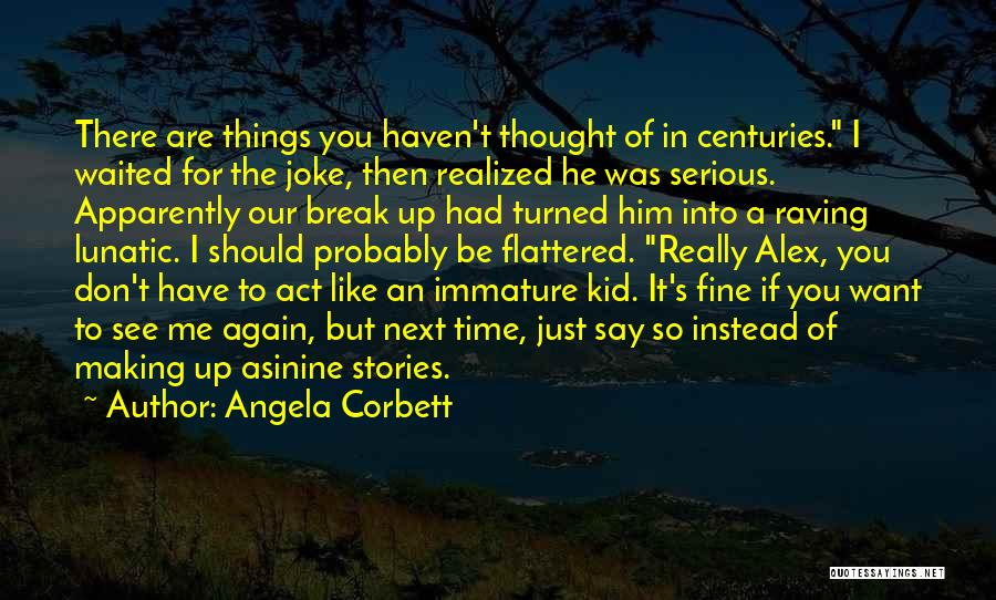 He Waited Quotes By Angela Corbett
