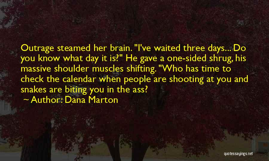 He Waited Quotes By Dana Marton