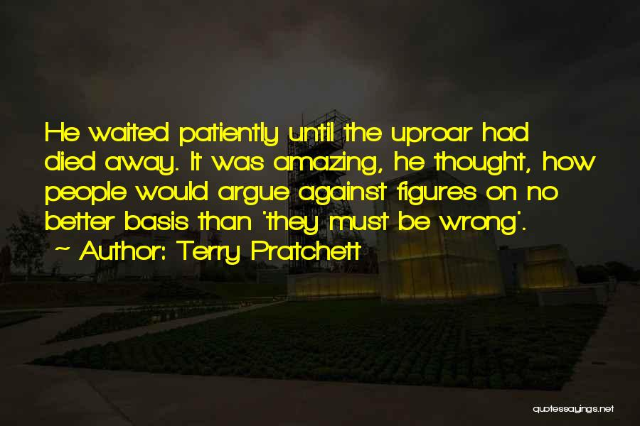 He Waited Quotes By Terry Pratchett