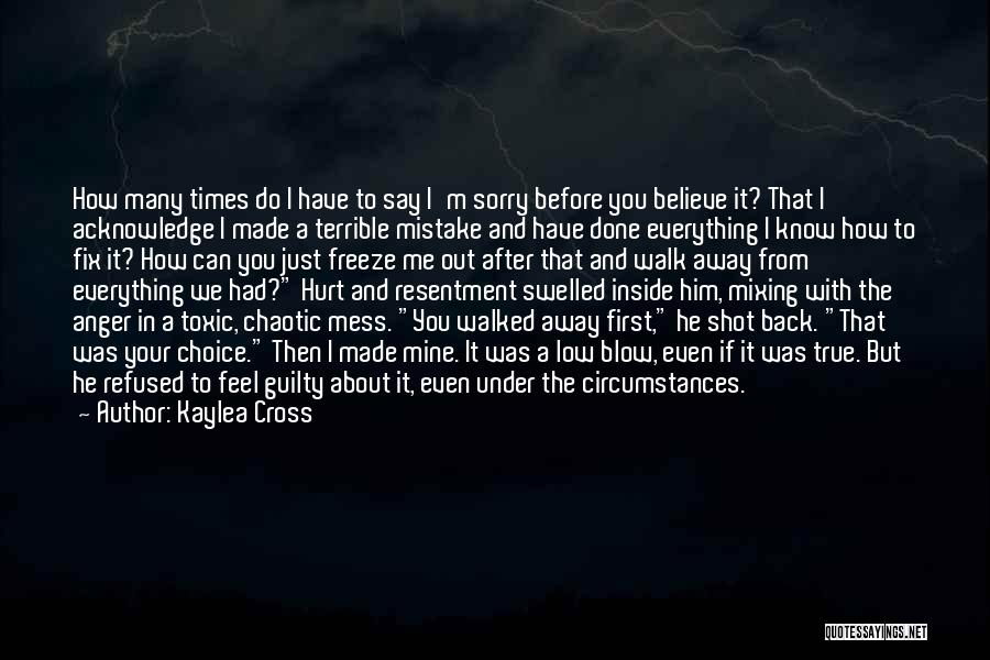 He Was Mine First Quotes By Kaylea Cross