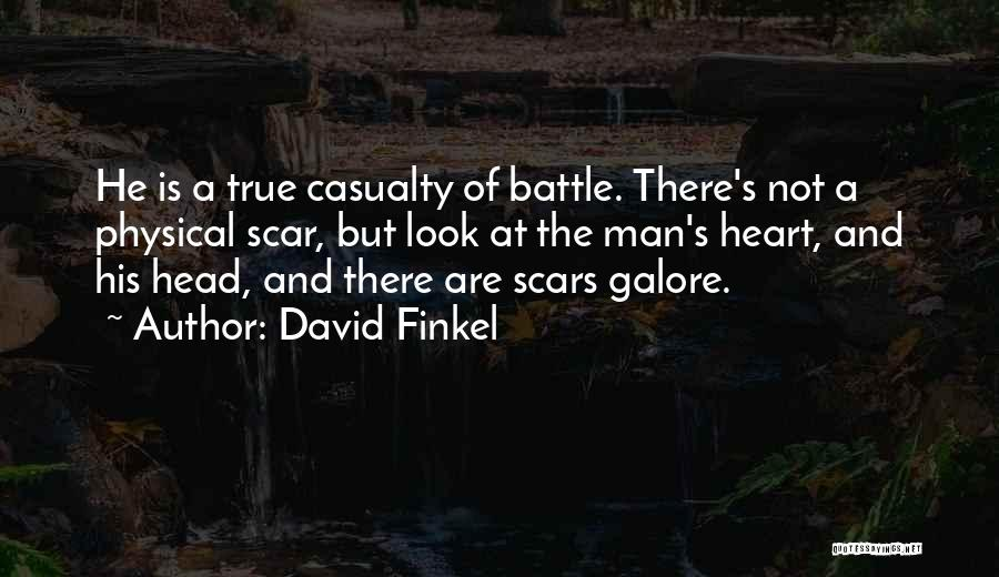 Head And Heart Battle Quotes By David Finkel