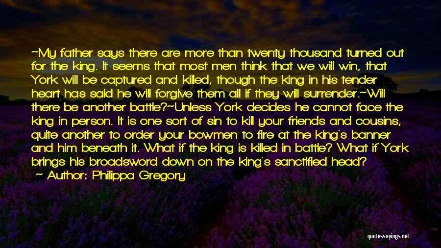 Head And Heart Battle Quotes By Philippa Gregory
