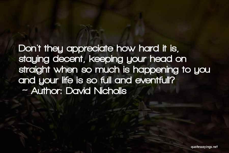 Head On Straight Quotes By David Nicholls