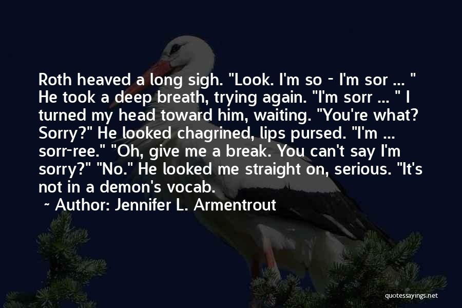 Head On Straight Quotes By Jennifer L. Armentrout