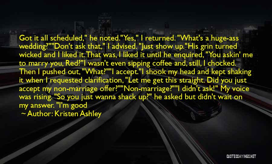 Head On Straight Quotes By Kristen Ashley