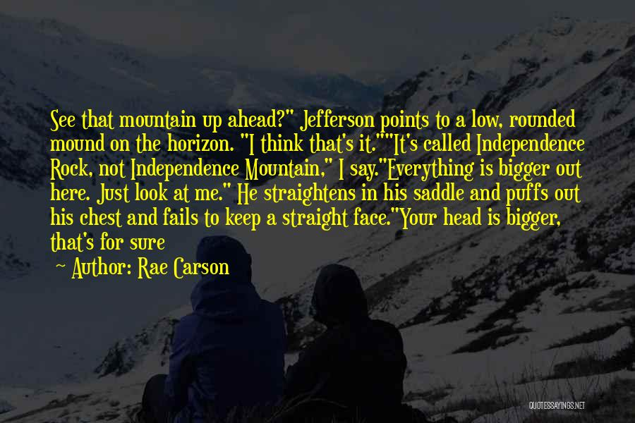 Head On Straight Quotes By Rae Carson