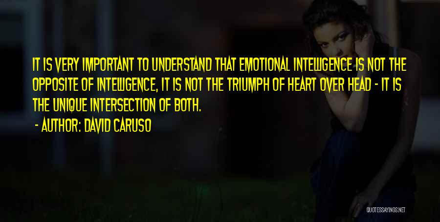 Head Over Heart Quotes By David Caruso