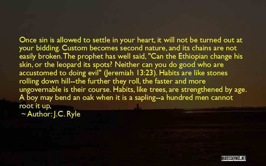 Head Over Heart Quotes By J.C. Ryle
