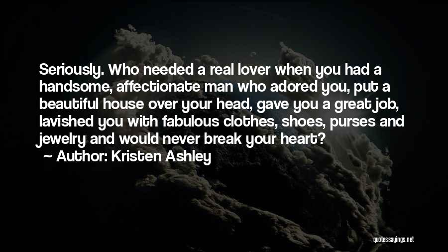 Head Over Heart Quotes By Kristen Ashley