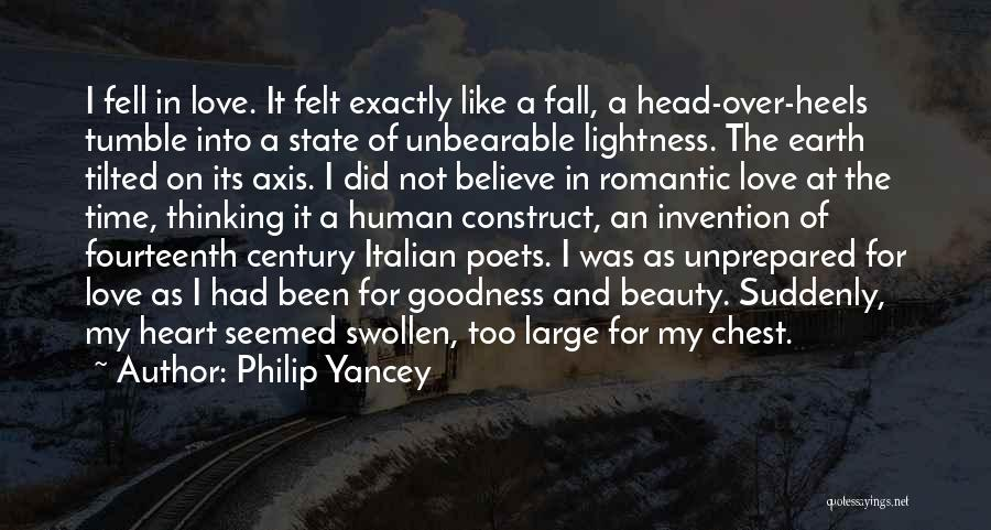 Head Over Heart Quotes By Philip Yancey