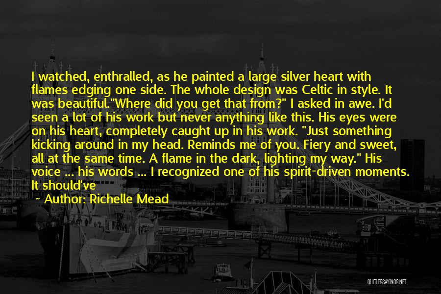Head Over Heart Quotes By Richelle Mead