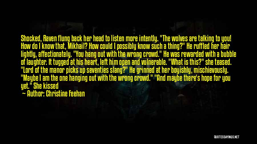 Head Up Quotes By Christine Feehan