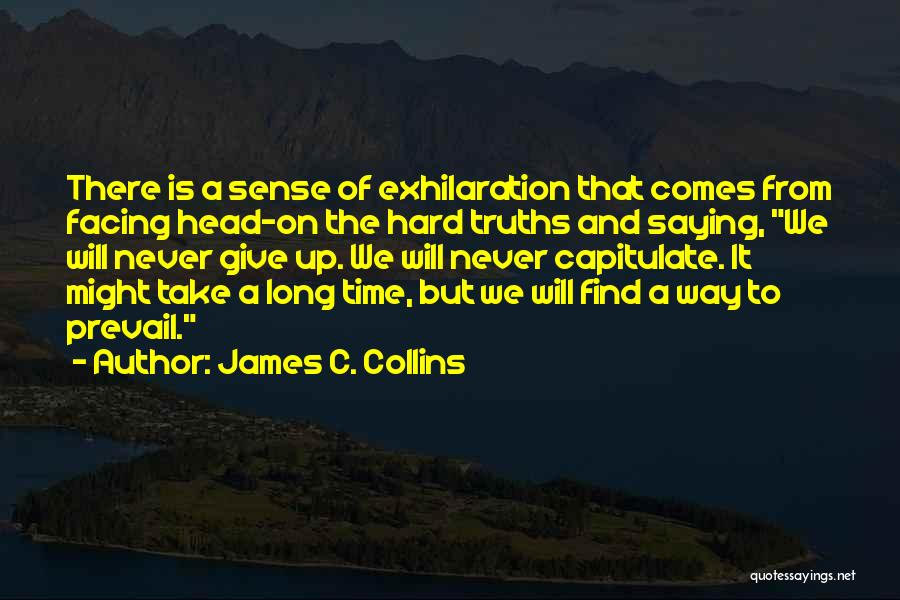 Head Up Quotes By James C. Collins