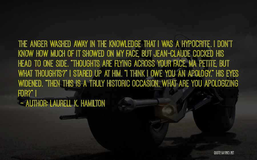Head Up Quotes By Laurell K. Hamilton