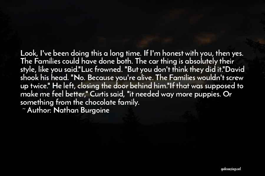 Head Up Quotes By Nathan Burgoine