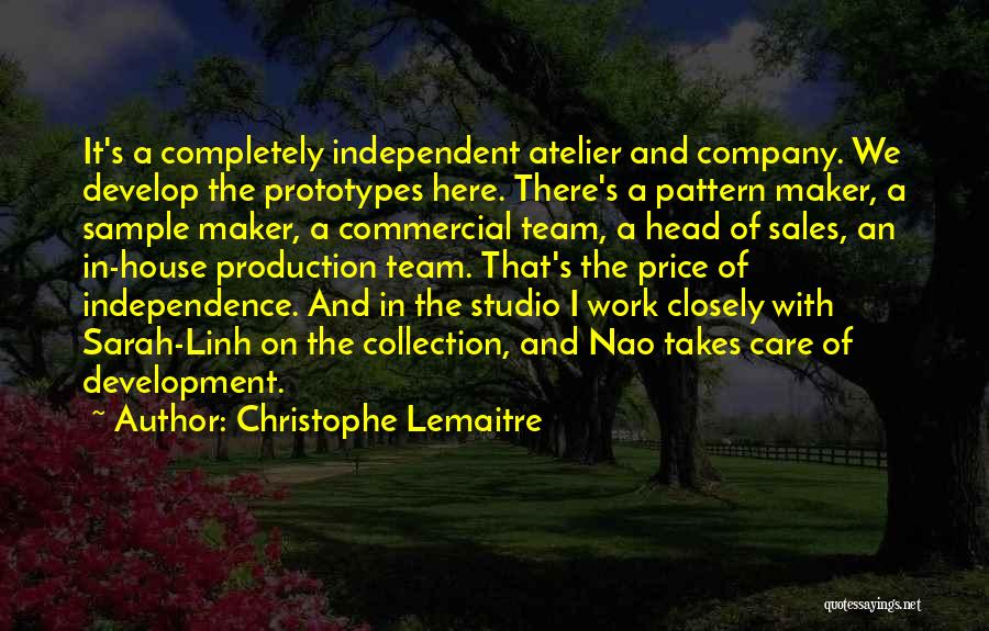 Head Work Quotes By Christophe Lemaitre