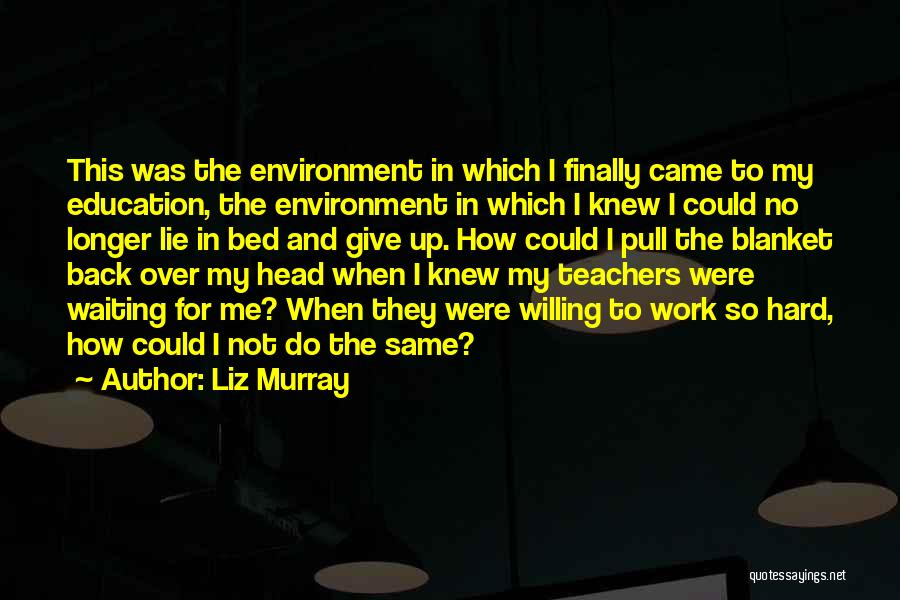 Head Work Quotes By Liz Murray