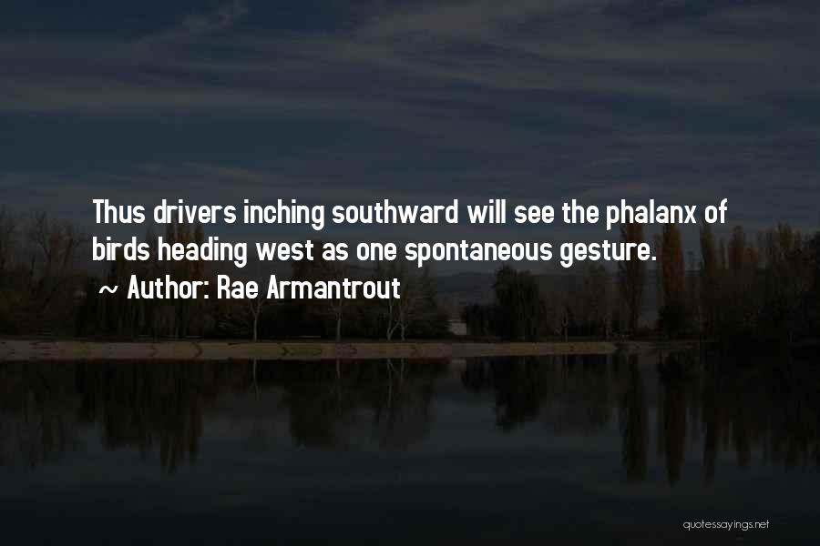 Heading West Quotes By Rae Armantrout