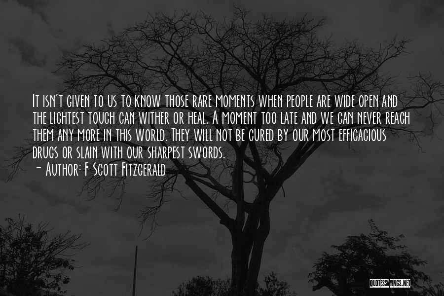 Heal The World Quotes By F Scott Fitzgerald