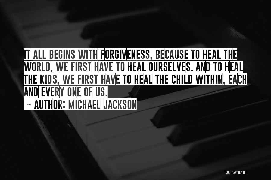 Heal The World Quotes By Michael Jackson