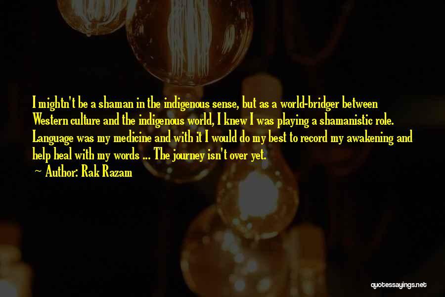 Heal The World Quotes By Rak Razam