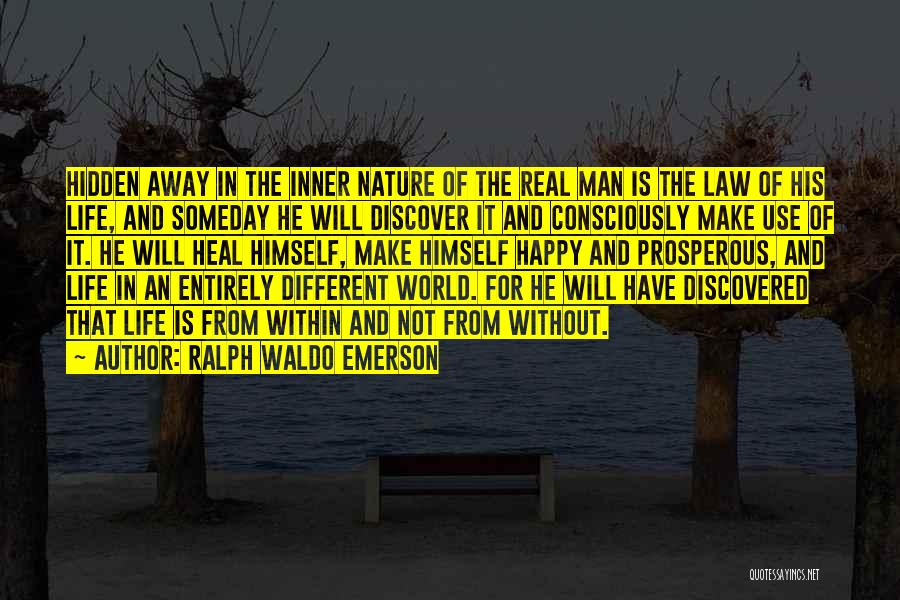 Heal The World Quotes By Ralph Waldo Emerson