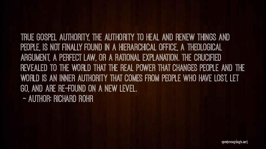 Heal The World Quotes By Richard Rohr