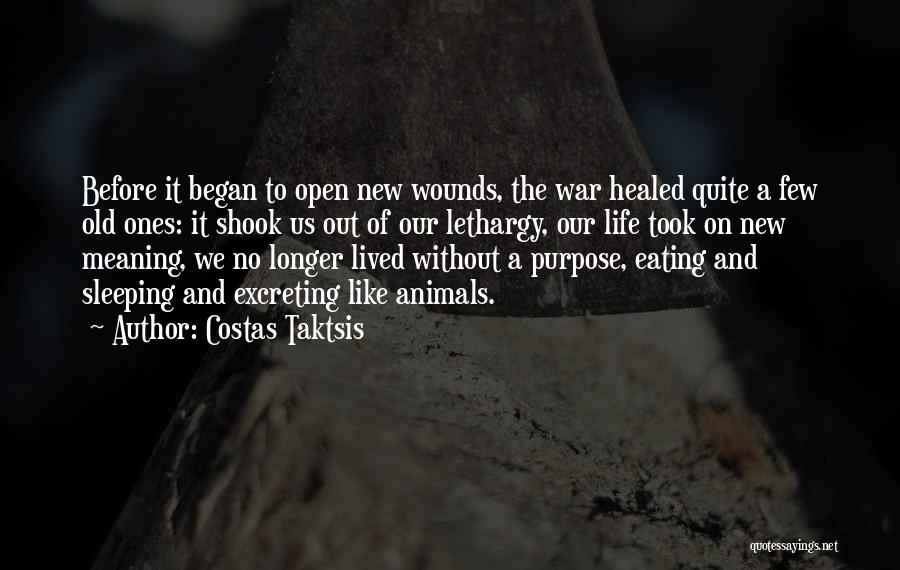 Healed Wounds Quotes By Costas Taktsis