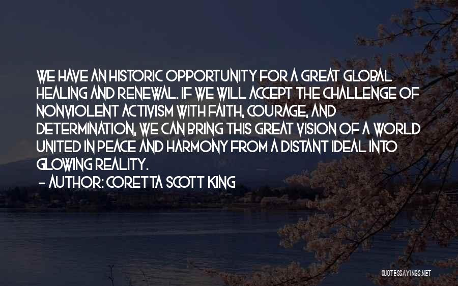 Healing Quotes By Coretta Scott King
