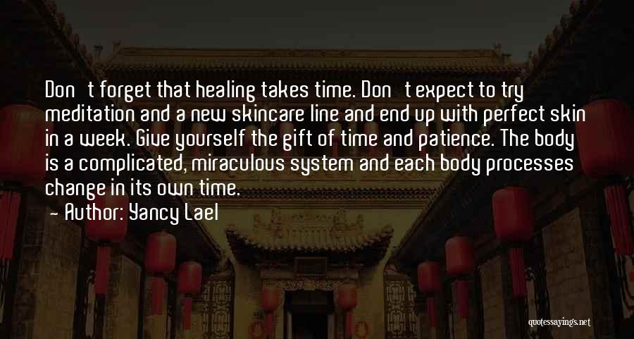 Healing Takes Time Quotes By Yancy Lael