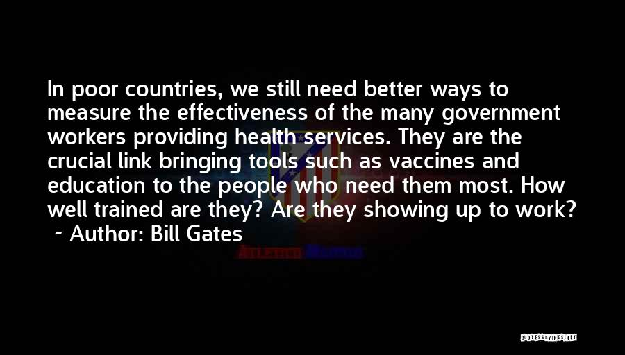 Health Services Quotes By Bill Gates