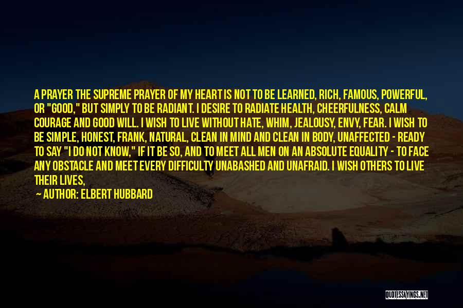 Health Services Quotes By Elbert Hubbard