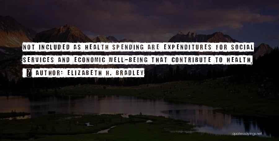 Health Services Quotes By Elizabeth H. Bradley