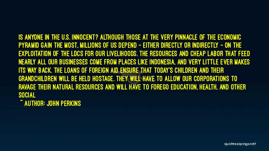 Health Services Quotes By John Perkins