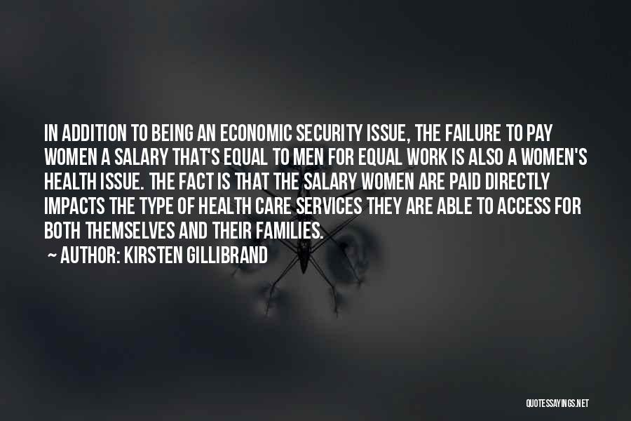 Health Services Quotes By Kirsten Gillibrand