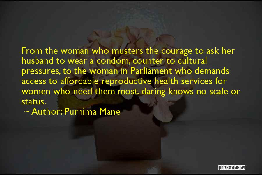 Health Services Quotes By Purnima Mane