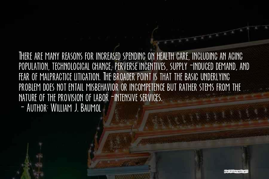 Health Services Quotes By William J. Baumol