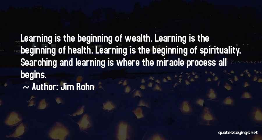 Health Vs Wealth Quotes By Jim Rohn
