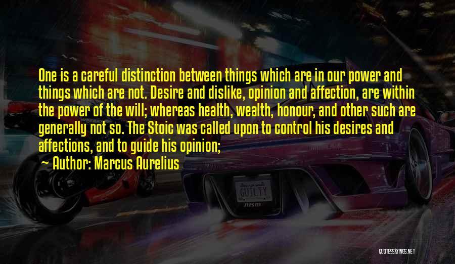 Health Vs Wealth Quotes By Marcus Aurelius