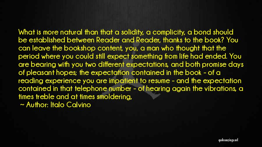 Hearing Your Voice On The Phone Quotes By Italo Calvino