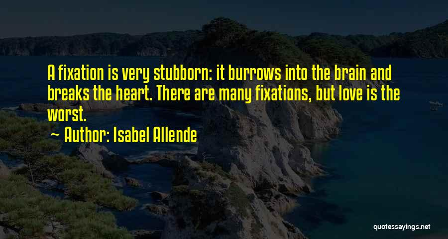 Heart And Love Quotes By Isabel Allende