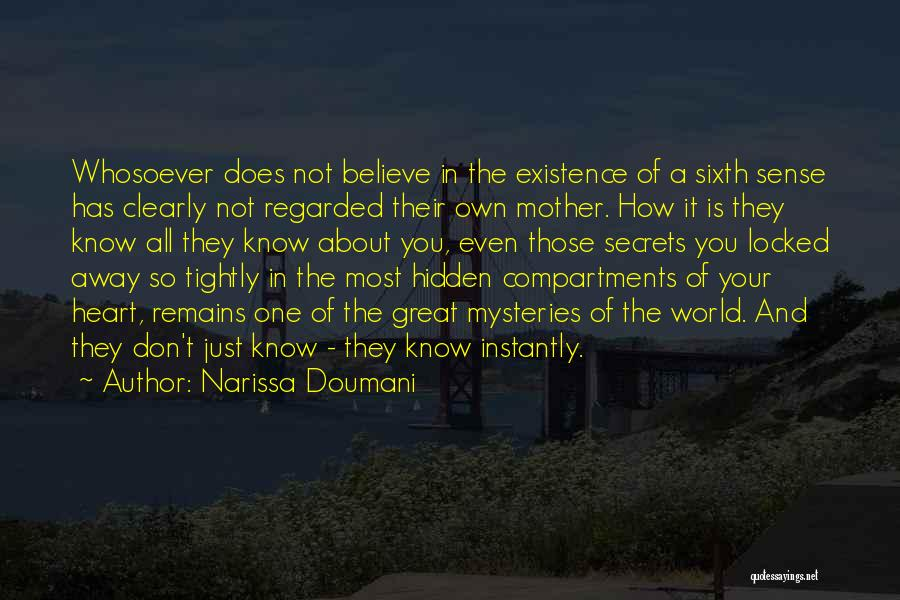 Heart And Love Quotes By Narissa Doumani