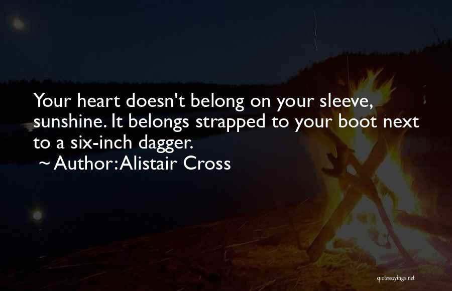 Heart Belongs Quotes By Alistair Cross
