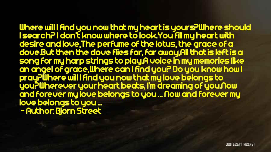 Heart Belongs Quotes By Bjorn Street