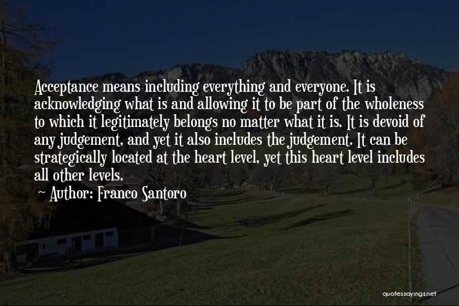 Heart Belongs Quotes By Franco Santoro