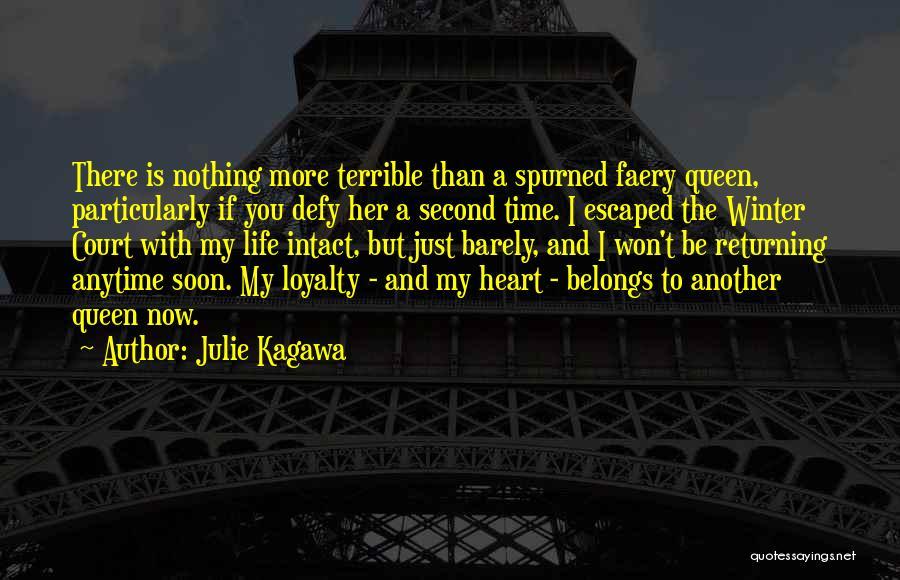 Heart Belongs Quotes By Julie Kagawa