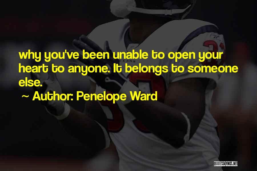 Heart Belongs Quotes By Penelope Ward