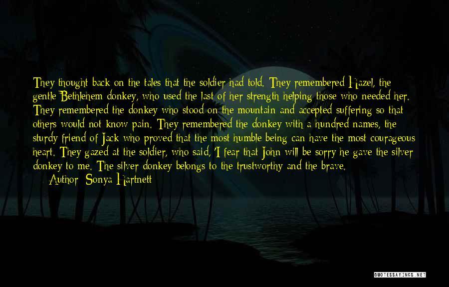 Heart Belongs Quotes By Sonya Hartnett